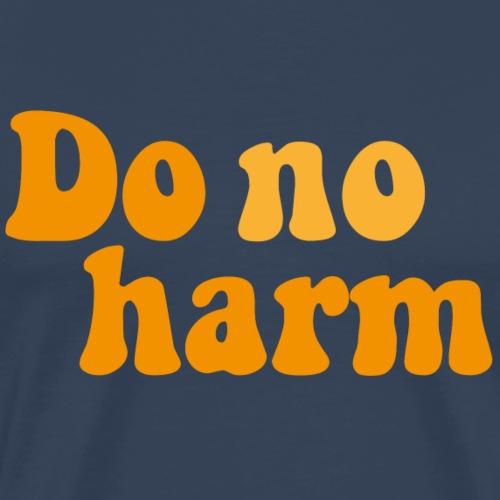 DoNoHarm - Premium-T-shirt herr