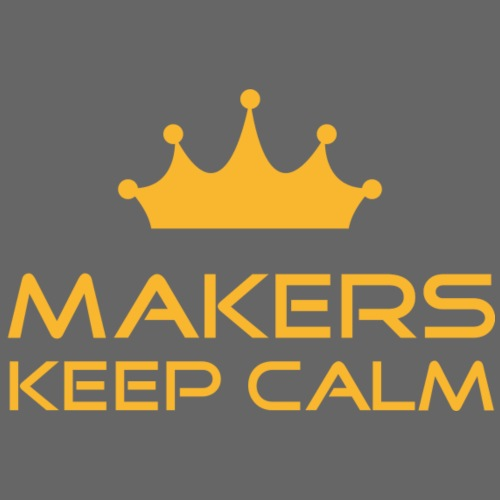 keep calm | Makers | Yellow - Männer Premium T-Shirt