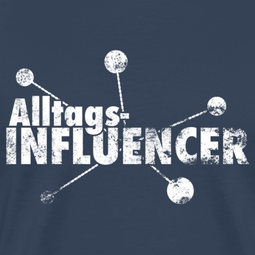 AlltagsINFLUENCER weiß - Männer Premium T-Shirt