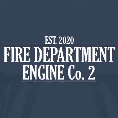ENGINE Co 2 - Herre premium T-shirt