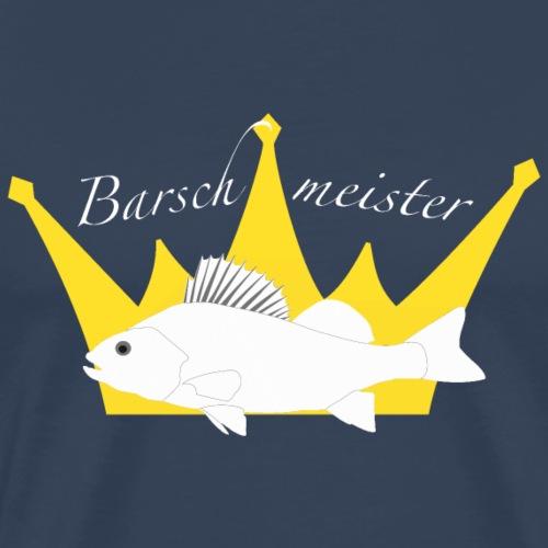 Barschmeister_20160303_weiss - Männer Premium T-Shirt