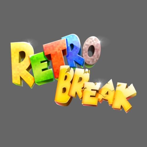 RetroBreak Logo - Men's Premium T-Shirt