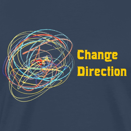 Change Direction - Men's Premium T-Shirt