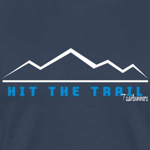 Trailrunner Trailrunning Traillauf Spruch Shirt Ge - Männer Premium T-Shirt