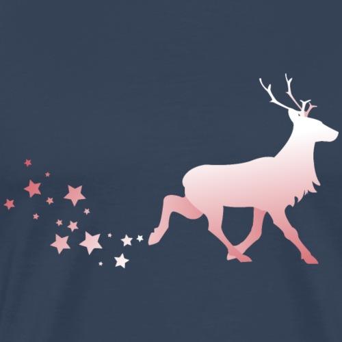 Rentier - Männer Premium T-Shirt