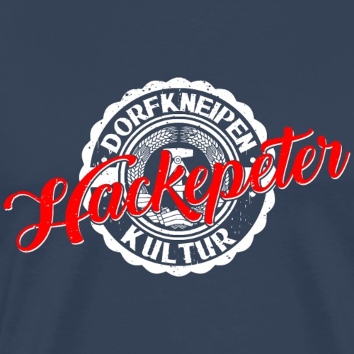 Hackepeter - Männer Premium T-Shirt
