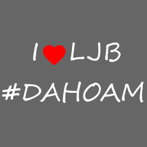 I ❤️ LJB #DAHOAM - Männer Premium T-Shirt
