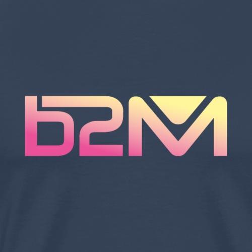 B2M degrade rose jaune - T-shirt Premium Homme