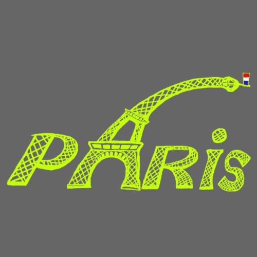 Paris Vert Claire - T-shirt Premium Homme