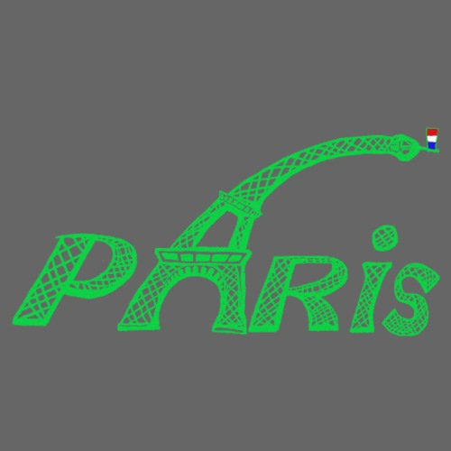 Paris Vert - T-shirt Premium Homme