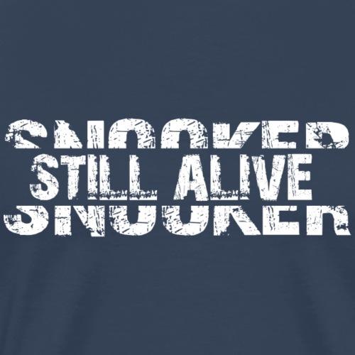 Snooker still alive - Männer Premium T-Shirt