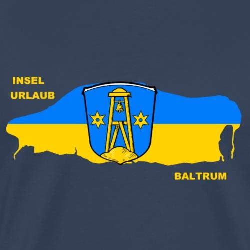 Baltrum Nordsee Insel Urlaub - Männer Premium T-Shirt