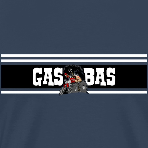 IH GAS BAS color - Mannen Premium T-shirt