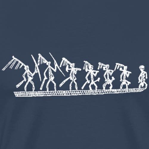 Pirogue kanak - T-shirt Premium Homme