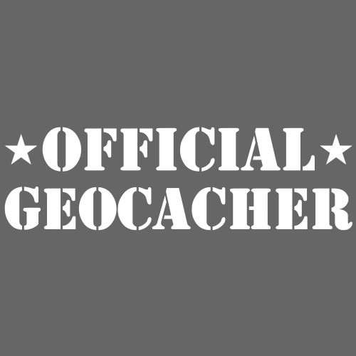 Official Geocacher - Männer Premium T-Shirt