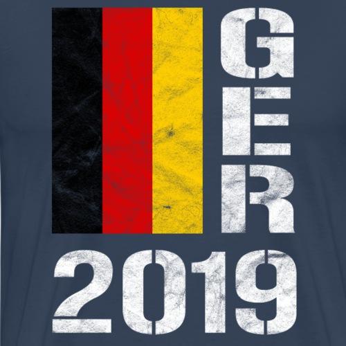 DEUTSCHLAND 2019 Handball Fan Shirt GER 2019 WM - Männer Premium T-Shirt
