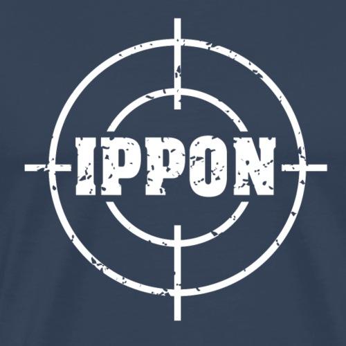 Target Judo Ippon Grunge weiss - Männer Premium T-Shirt