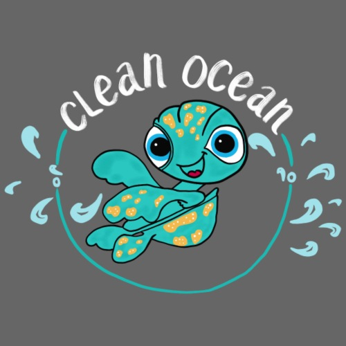Clean Ocean - Men's Premium T-Shirt