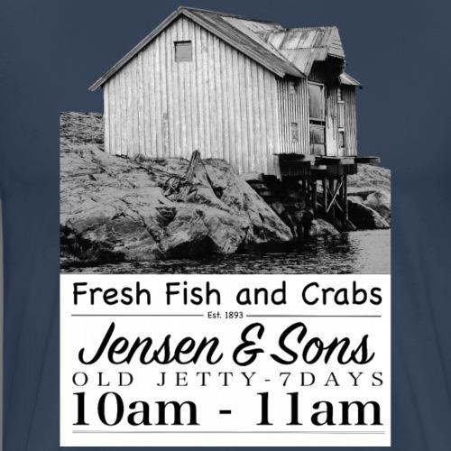 Jensen & Sons - Old Jetty - Männer Premium T-Shirt