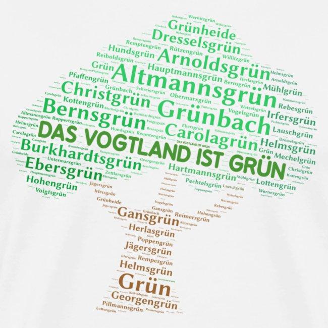 Vogtland Orte grün