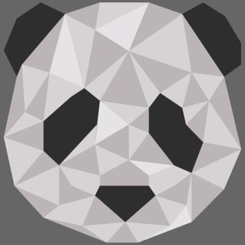 panda géométrique - T-shirt Premium Homme