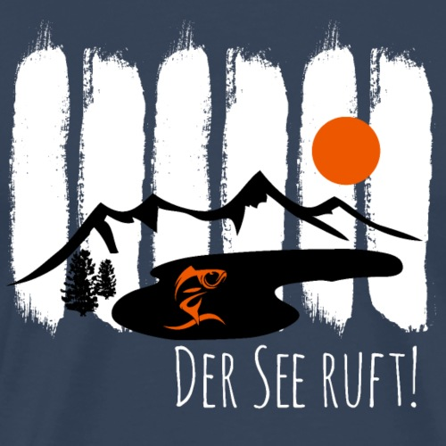 Der See ruft! - Männer Premium T-Shirt