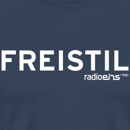 Freistil radioeins weiß - Männer Premium T-Shirt