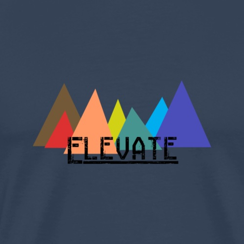 Elevate to the Mountains - Maglietta Premium da uomo