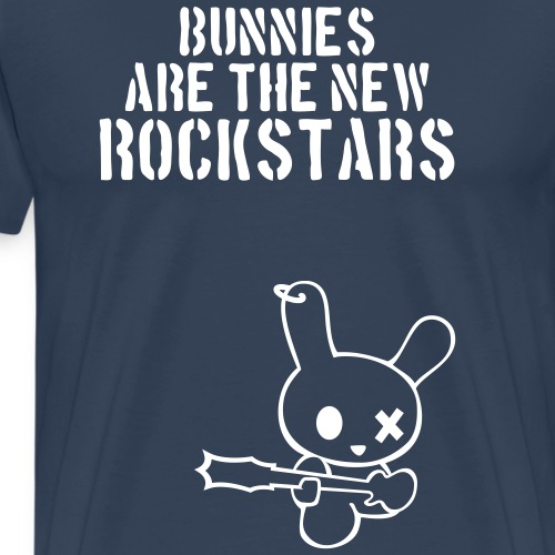 Rockstarbunny Bunnies Are The New Rockstars hase - Männer Premium T-Shirt