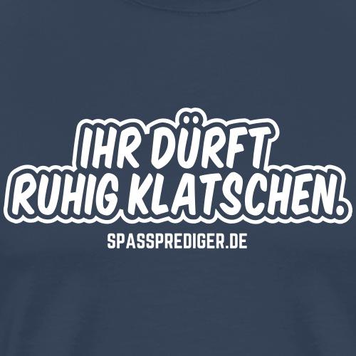 Szenenapplaus - Männer Premium T-Shirt