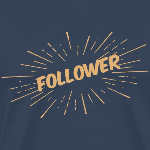 Follower - Sunburst - Männer Premium T-Shirt