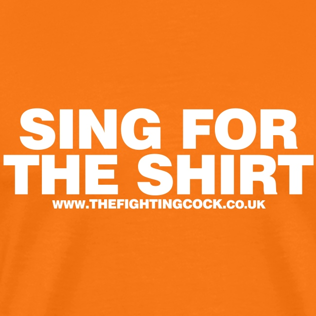 sing for the shirt