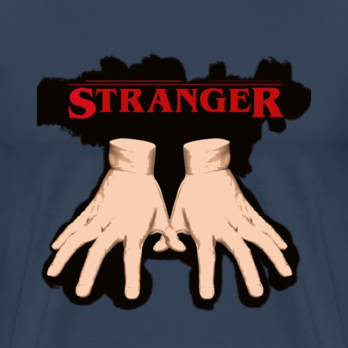 Stranger 'Addams Family' Things - Men's Premium T-Shirt