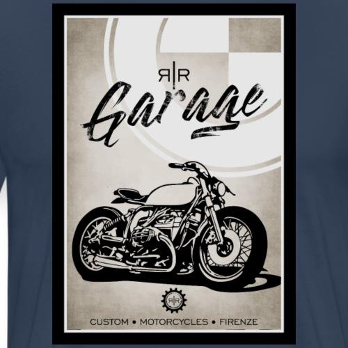 AIRCOOLED MOTORBIKE VINTAGE - Maglietta Premium da uomo