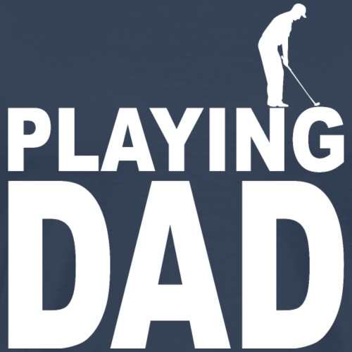 Playing Golf Dad Geschenk - Männer Premium T-Shirt