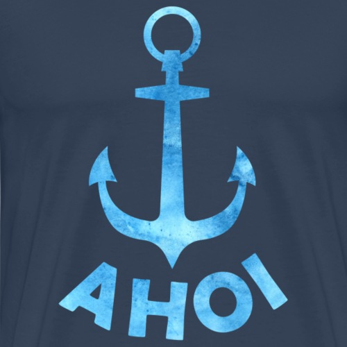Ahoi Anker - Männer Premium T-Shirt