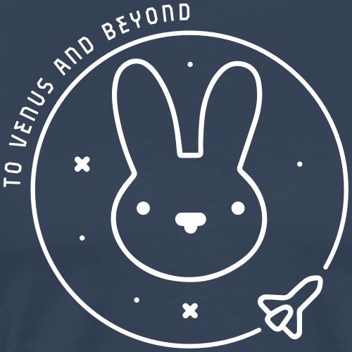 Space Bunny - To Venus And Beyond - Männer Premium T-Shirt