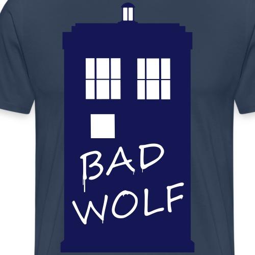 Bad Wolf Tardis - T-shirt Premium Homme