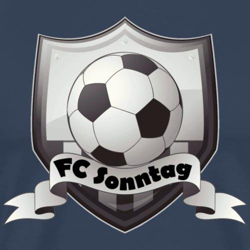 FC Sonntag Logo - Männer Premium T-Shirt