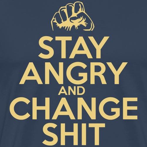 Stay Angry - Men's Premium T-Shirt