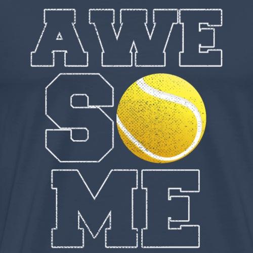 Awesome Tennis - Männer Premium T-Shirt
