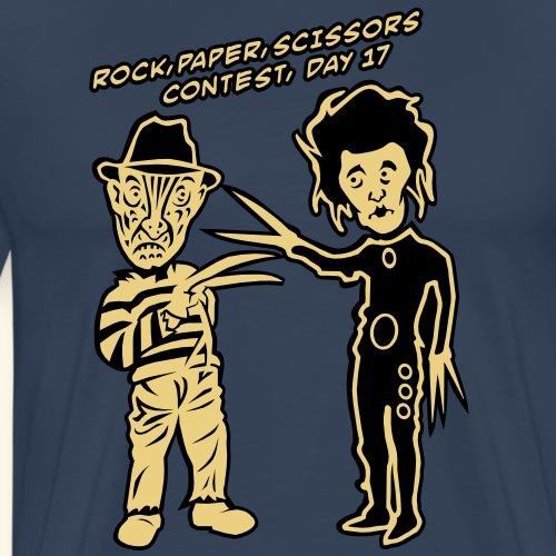 Ed & Fred, Outline - Männer Premium T-Shirt