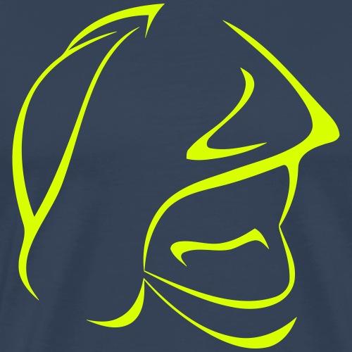 casque pompiers - T-shirt Premium Homme