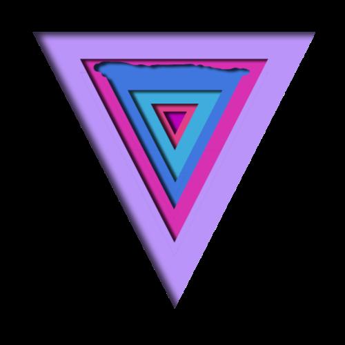 Deep Triangel - Männer Premium T-Shirt