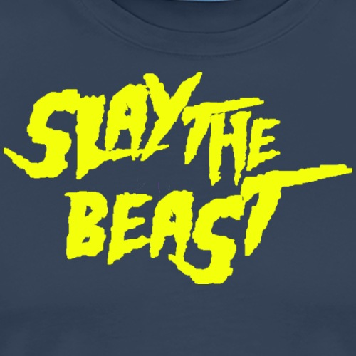 SLAY THE BEAST Lime - Men's Premium T-Shirt