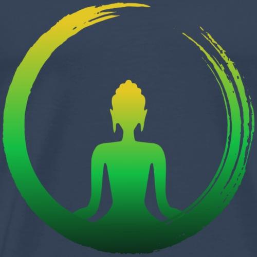Buda Zen Vida - Camiseta premium hombre