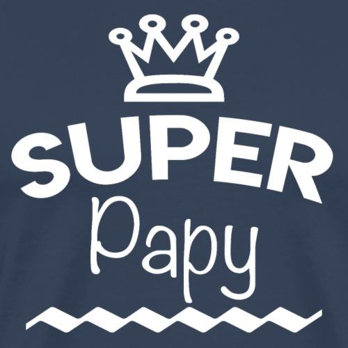 Super Papy - T-shirt Premium Homme