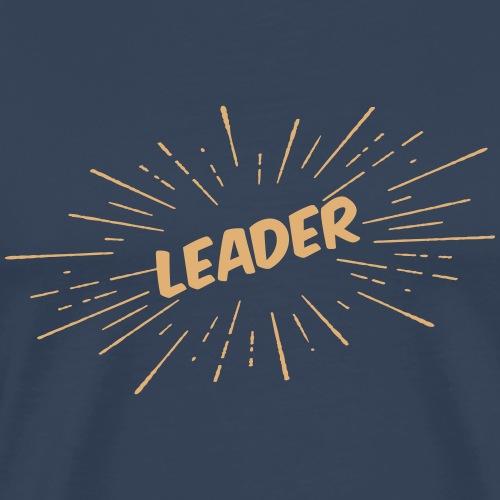 Leader - Sunburst - Männer Premium T-Shirt