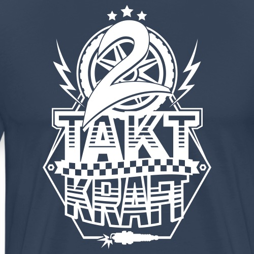 2-Takt-Kraft / Zweitaktkraft - Men's Premium T-Shirt