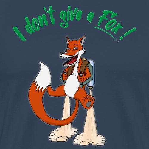 I don't give a Fox! - Männer Premium T-Shirt